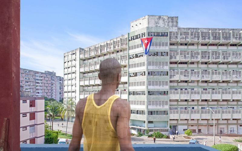 Reparto Camilo Cienfuegos #1, Havana, Cuba, 2012