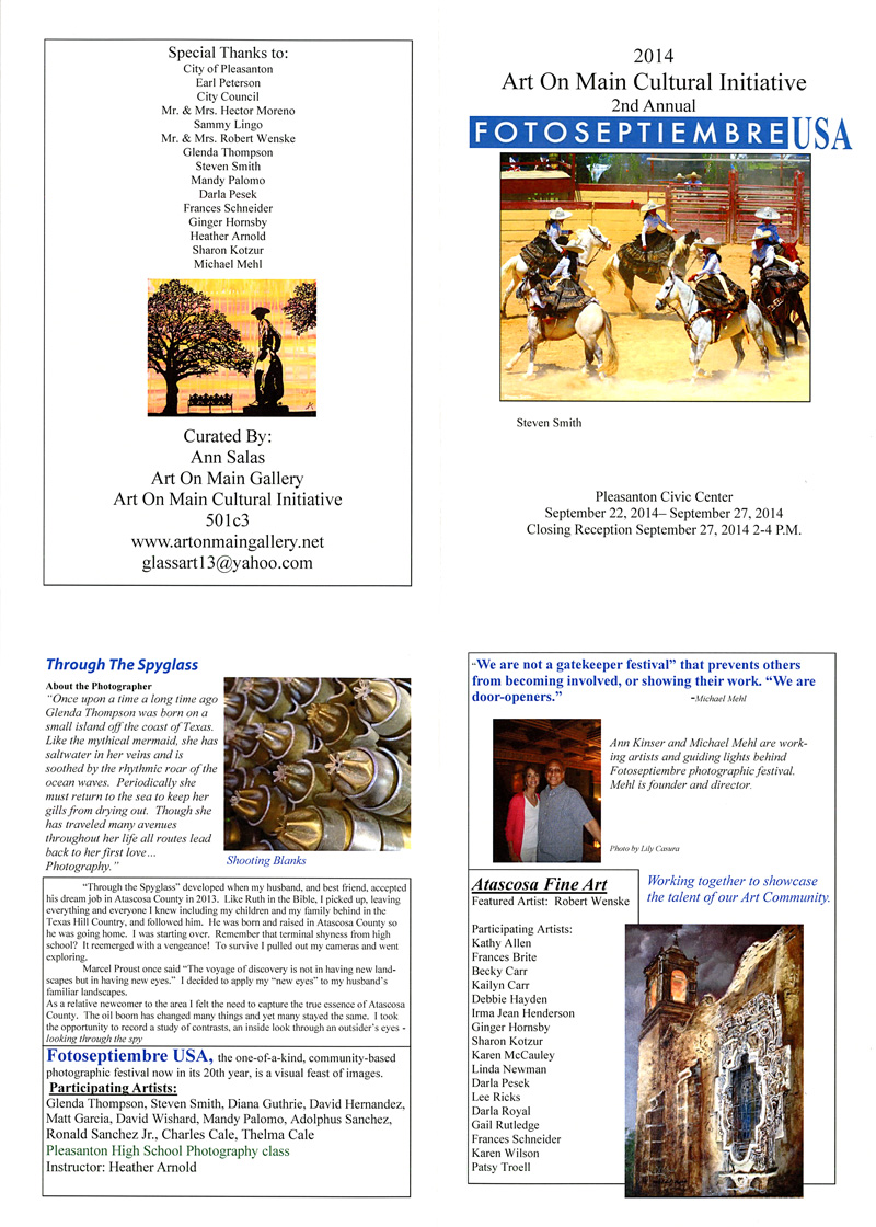 2014-FOTOSEPTIEMBRE-USA_Pleasanton-Civic-Center_Promotional-Brochure