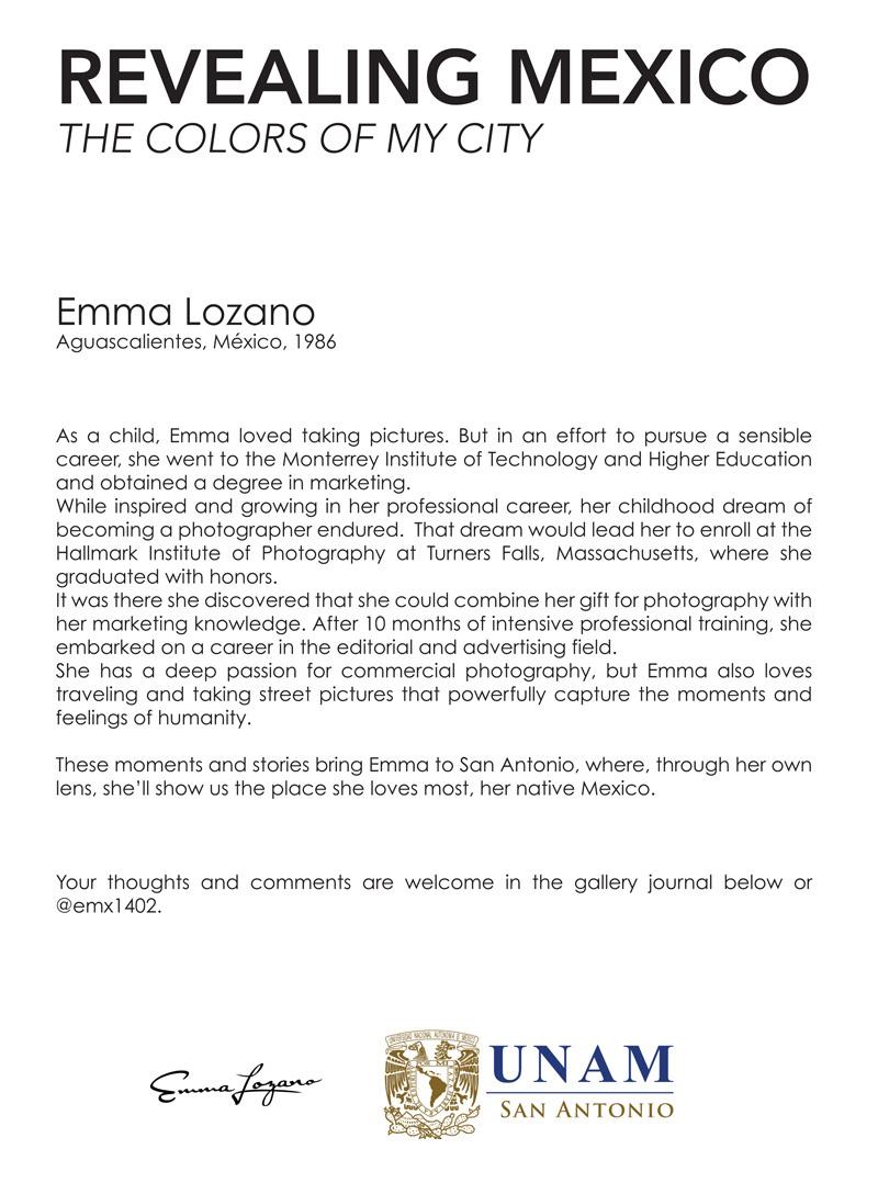 2014-FOTOSEPTIEMBRE-USA_UNAM_Emma-Lozano-Bio