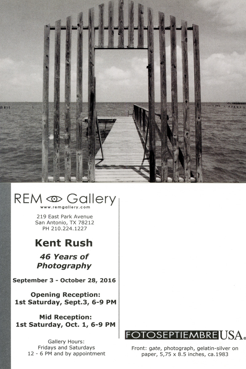 2016-FOTOSEPTIEMBRE-USA_Press-Archives_Kent-Rush_46-Years-Of-Photography_REM-Gallery-Promo-Card