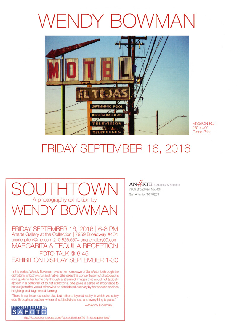 2016-fotoseptiembre-usa_wendy-bowman_southtown-exhibit_anarte-gallery-promo-card